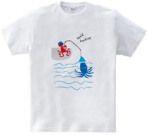 イカ釣りタコ
