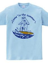 Summer come! _ White Bear 01