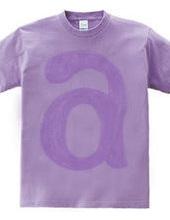 purple ~ a ~