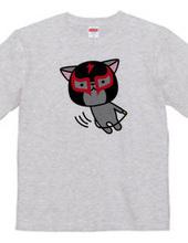 猫ルチャドール(縄跳び)