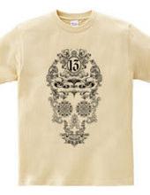 Classic gothic skull2