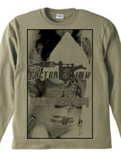 tattoo inked sexy girl long sleeve T sh
