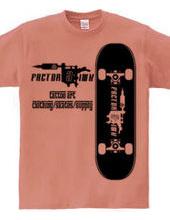 Skate board tattoo machine skateboards l
