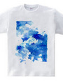 空と飛行機雲