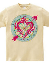 Heart tribal Darts-Magenta