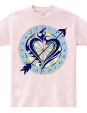 Heart tribal Darts-Navy