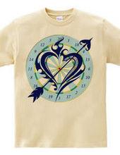 Heart tribal Darts-Navy