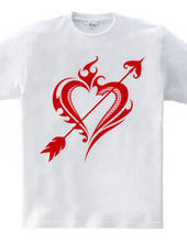 Heart tribal Steal Your Heart-Red