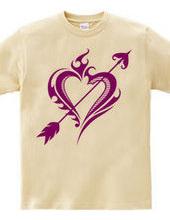 Heart tribal Steal Your Heart-Purple
