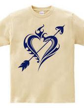 Heart トライバル type1-Steal Your Heart- Blue