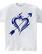 Heart tribal Steal Your Heart-Blue