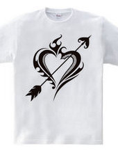 Heart tribal Steal Your Heart-Black