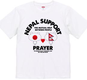 【ネパール支援チャリティTシャツ】マークマ 日本とネパールstyle