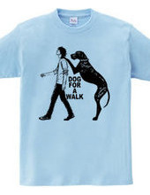 dog for a walk-B