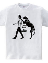 dog for a walk-B