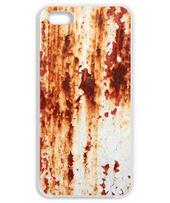 錆びたペンキの鉄板