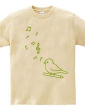小鳥と音符(G)