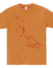 小鳥と音符(C)
