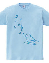 小鳥と音符(B)