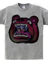 Man-eating bear