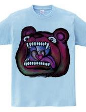 Man-eating bear