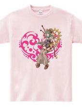 Heart type3- スチームパンク風の女性- Magenta