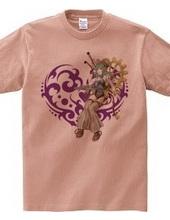 Heart type3 -スチームパンク風の女性- Purple