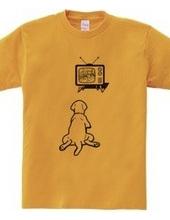 テレビ好きなワンちゃん #bk01