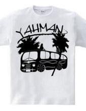 yah-man ~ -black and white