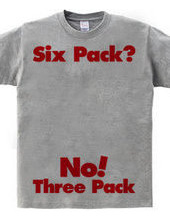 It's still three pack