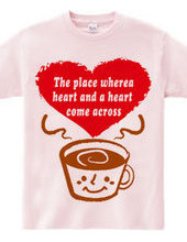 The place wherea heart and a heart  come