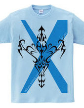 Cross TRIBAL type1-cyan-