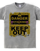 KEEP OUT (grunge)