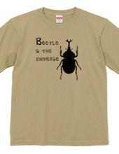 カブトムシは宇宙だ!Tシャツ