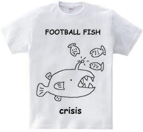 危ない!ちょうちんアンコウTシャツ