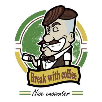 Break with coffee