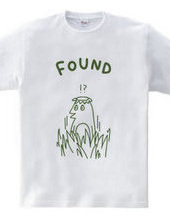 カッパを見つける