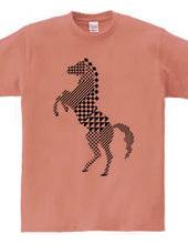 geometric horse