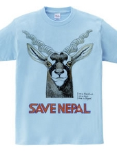SAVE NEPAL (black buck)