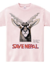 SAVE NEPAL (black buck)