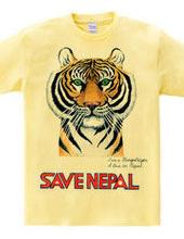 SAVE NEPAL (Bengal tiger)