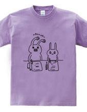 ウサギとカンニング