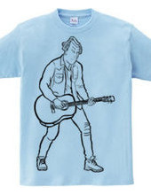 Guitar Boy(black line)