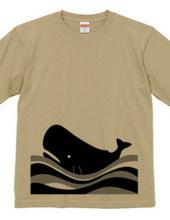 Midnight sea whale