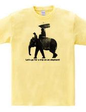 Elephant riding, journey!