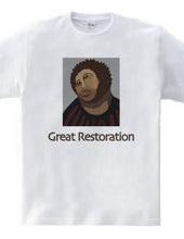 Great restoration of frescoes of Spain
