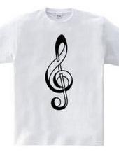 Paper Craft G clef