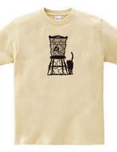 イバラの椅子と黒猫