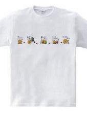 金沢弁Tシャツ~だじゃれ金沢弁~