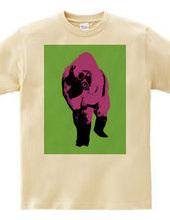 Collage Art Gorilla